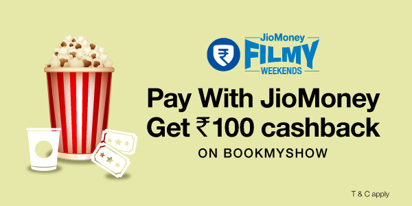 Get Rs 100 Cashback on Book My Show