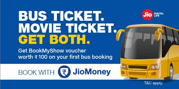 Get exciting coupons and offers with JioMoney