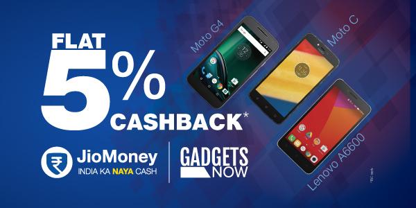 Get 5% cashback on Gadgets Now