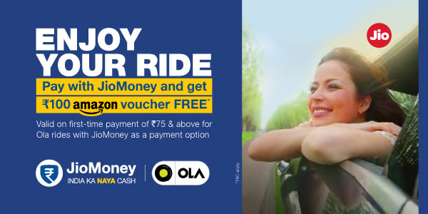 Get Amazon vouchers when you ride with Ola!