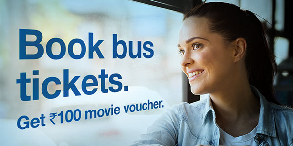 Online Bus Tickets Booking Offer